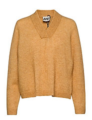 Chica knit - SPRUCE YELLOW