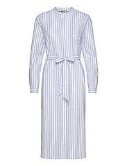 Payton long shirt - CHAMBRAY STRIPE