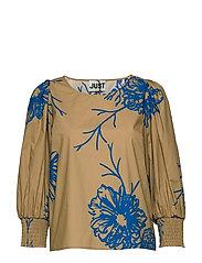 Marty blouse - FLORA GRANDE AOP