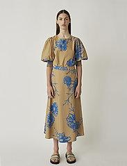 Just Female - Marty blouse - bluzki dlugim rekawem - flora grande aop - 0