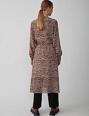 Just Female - Virginia dress - summer dresses - sketchy ikat aop - 3