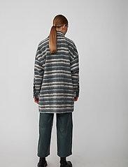 Just Female - Gail jacket - wool jackets - balsam check - 3