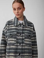Just Female - Gail jacket - wool jackets - balsam check - 4