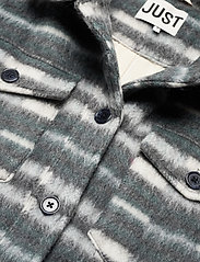 Just Female - Gail jacket - wool jackets - balsam check - 5