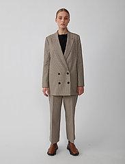 Just Female - Kelly trousers - vida byxor - kelly check - 0