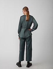 Just Female - Minnie blouse - long sleeved blouses - balsam green - 5
