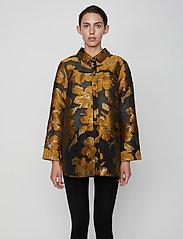 Just Female - Maison shirt - långärmade skjortor - maison flora - 0