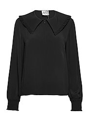 Lima blouse - BLACK