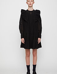 Just Female - Lyon dress - spetsklänningar - black - 0