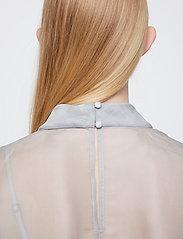 Just Female - Marissa blouse - kortärmade blusar - ballad blue - 4
