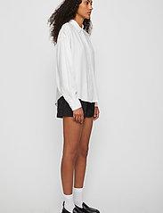 Just Female - Texas shirt - long-sleeved shirts - white - 3