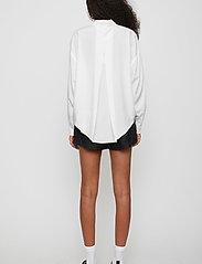 Just Female - Texas shirt - long-sleeved shirts - white - 4