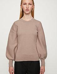Just Female - Palma knit sweater - sweaters - fungi - 0
