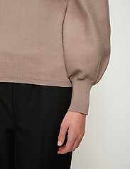 Just Female - Palma knit sweater - sweaters - fungi - 4