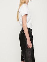 Just Female - Paso leather bermuda - leather shorts - black - 5