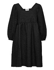 Toda dress - BLACK