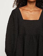 Just Female - Toda dress - vardagsklänningar - black - 4