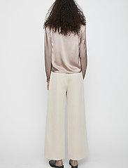 Just Female - Delta blouse - long sleeved blouses - fungi - 4