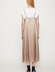 Just Female - Delta singlet dress - midiklänningar - fungi - 4