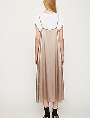 Just Female - Delta singlet dress - midi dresses - fungi - 4