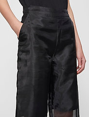 Just Female - Cologne trousers - wide leg trousers - black - 3
