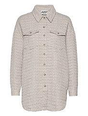 Metz shirt - ICE GREY STONE MIX