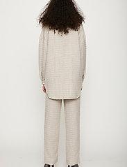 Just Female - Metz shirt - overshirts - ice grey stone mix - 3