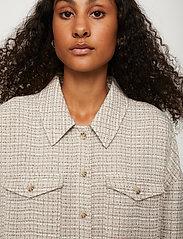 Just Female - Metz shirt - overshirts - ice grey stone mix - 4