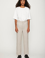 Just Female - Metz trousers - straight leg trousers - ice grey stone mix - 0