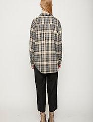 Just Female - Pisa Shirt - clothing - stone check - 3