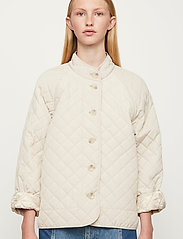 Just Female - Hisar jacket - quilted jackets - pumice stone - 0