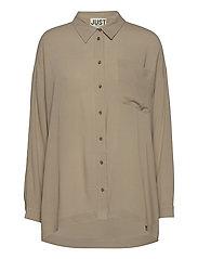 Brooklyn shirt - COBBLESTONE