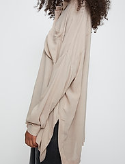 Just Female - Brooklyn shirt - long-sleeved shirts - cobblestone - 4