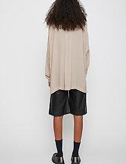 Just Female - Brooklyn shirt - long-sleeved shirts - cobblestone - 5