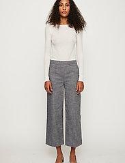 Just Female - Orlando trousers - straight leg trousers - denim blue - 3