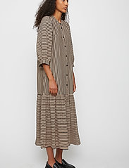Just Female - Colorado maxi dress - maxi dresses - cobblestone stripe - 3