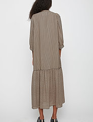Just Female - Colorado maxi dress - maxi dresses - cobblestone stripe - 4