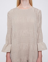 Just Female - Etienne dress - midi dresses - cobblestone - 3