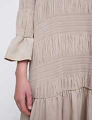 Just Female - Etienne dress - midi dresses - cobblestone - 4
