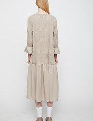 Just Female - Etienne dress - midi dresses - cobblestone - 5