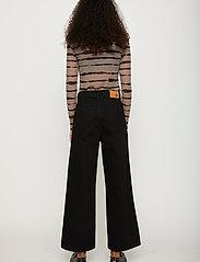 Just Female - Houston turtleneck - long-sleeved tops - uneaven lines aop - 4