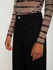 Just Female - Houston turtleneck - long-sleeved tops - uneaven lines aop - 5