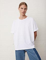 Just Female - Sjulle tee - t-shirt & tops - white - 3