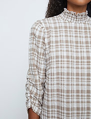 Just Female - Hamilton blouse - långärmade blusar - hamilton check - 5