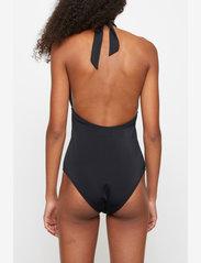Just Female - Pam tie swimsuit - swimsuits - black - 4