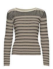 Lazio knit - NATURE STRIPE