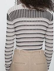 Just Female - Lazio knit - knitted tops - nature stripe - 4