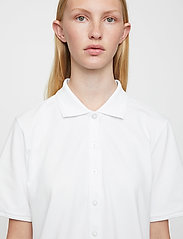 Just Female - Santo polo shirt - polo shirts - white - 4
