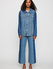 Just Female - Calm jeans mix 0104 - vida byxor - middle blue mix - 0