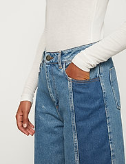 Just Female - Calm jeans mix 0104 - wide leg jeans - middle blue mix - 3